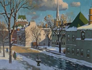 Rue Saint-Louis Québec