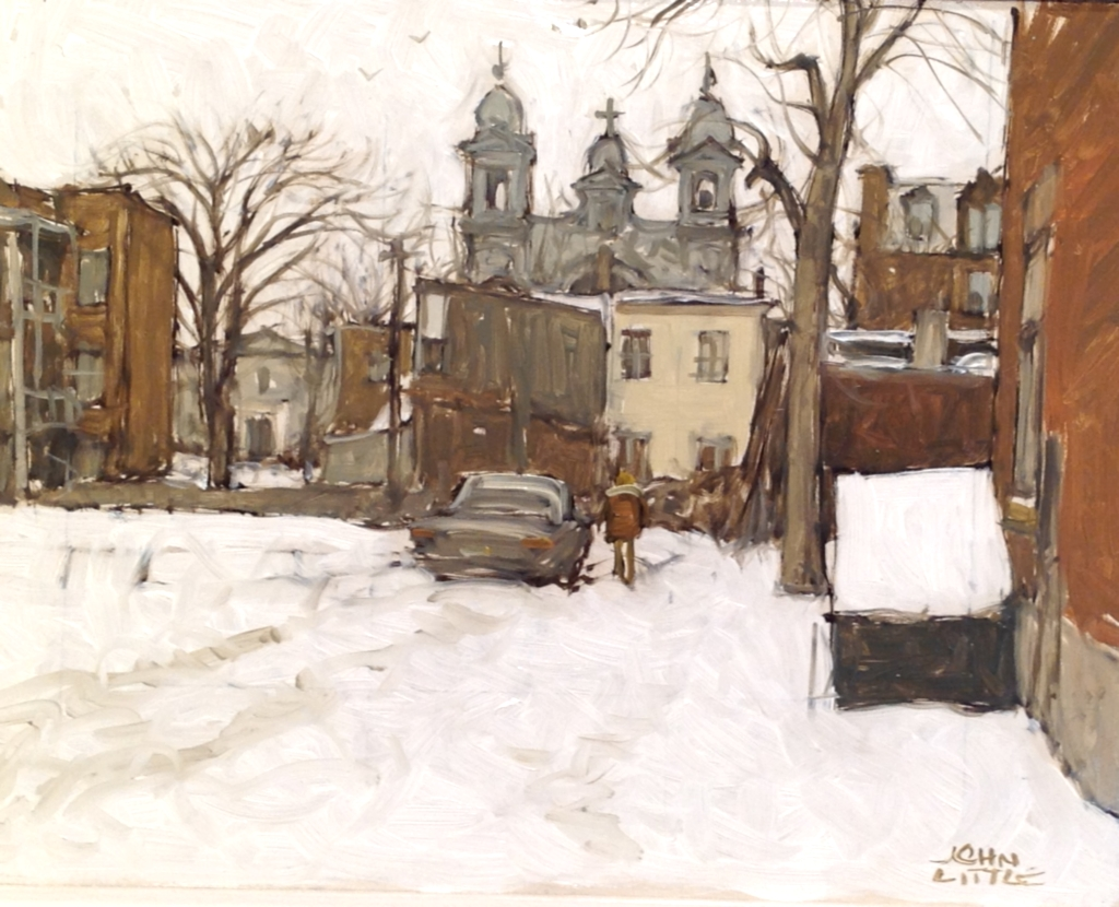 Winter in Ville �mard